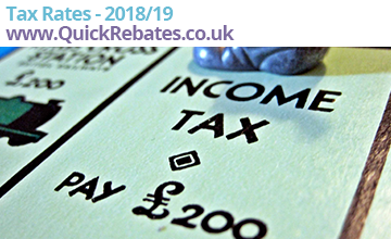Tax Rates 2018/19 Image