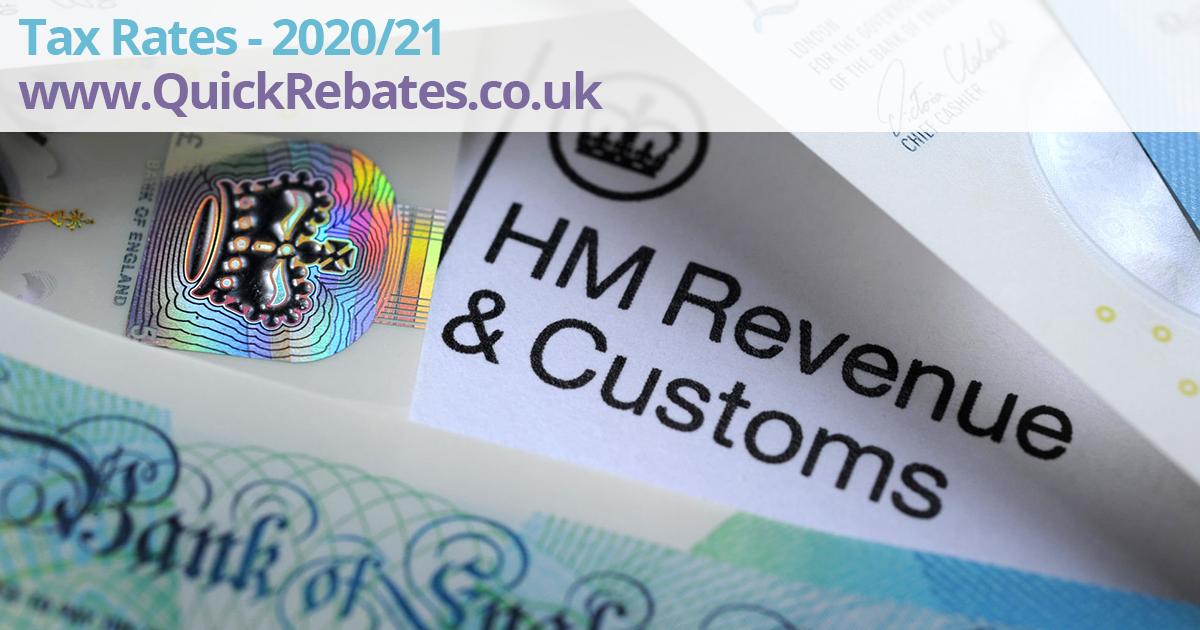 Tax Rates 2021-2021