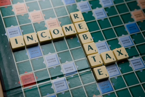 Income Tax Rebate Image